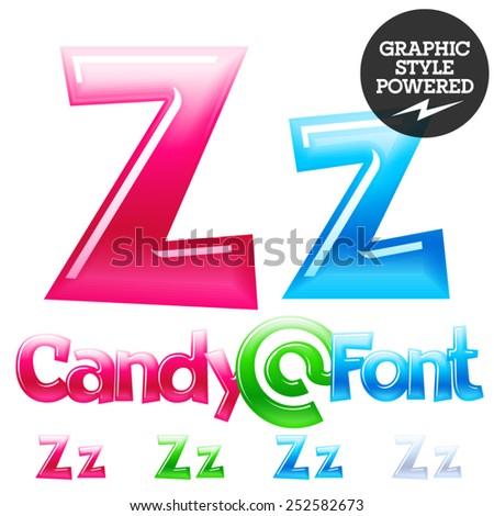 Brand name of candy logo z — 2