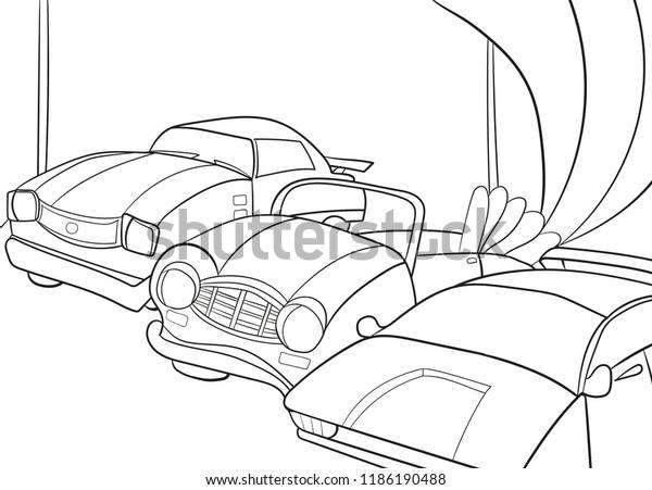 - Childrens Cartoon Coloring Book Boys Vector Stock Vector (Royalty Free)  1186190488