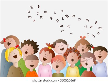 Children Choir Images, Stock Photos & Vectors | Shutterstock