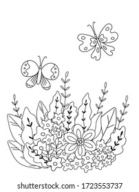 Colouring Pages Nature Hd Stock Images Shutterstock