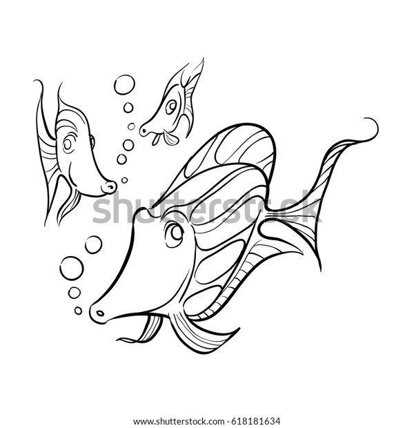 Ocean and Sea Animals Coloring Pages {Free Printable} - Easy Peasy ... | 620x600