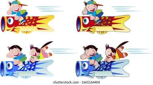 Childrens Day, Koinobori, Japan, Kabuto, Home Accessories, Doll, Pinwheel,  Condominium, Childrens Day, Child, Koinobori png   PNGWing