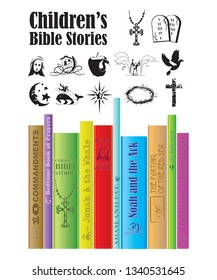 Children's religious story book titles.