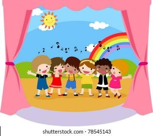 Children's singer