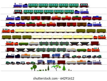 Children's Trains
