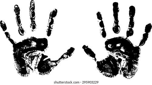 Handprint Digital Images Stock Photos Vectors Shutterstock