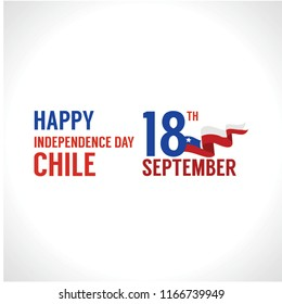 chile independence day design template