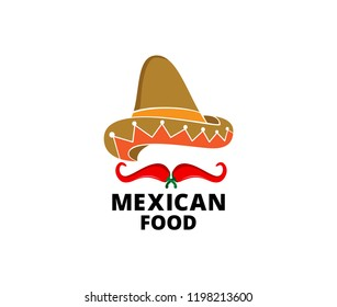 chili hot and spicy food vector logo design inspiration for mexican cuisine brand
