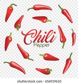 Chili Pepper Illustration Vector