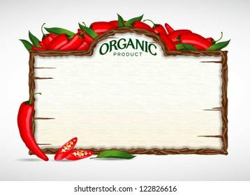 chilli menu board