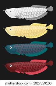 china Dragon fish Sacred