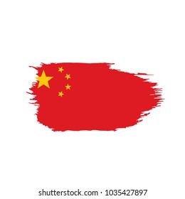China flag, vector illustration