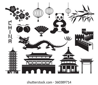 China Mono Objects Set, Travel Attraction, History, Traditional Culture