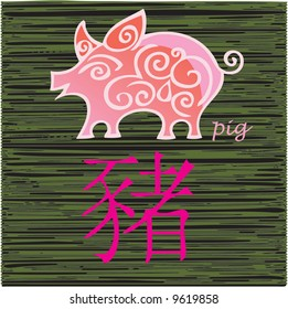 china year horoscope - pig