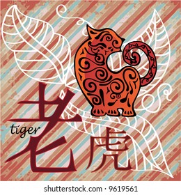 china year horoscope - tiger