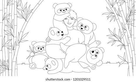Jungle Animal Coloring Page Stock Vectors, Images & Vector ...