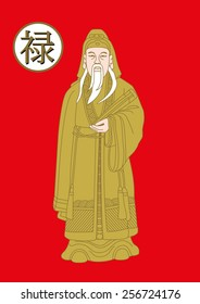 Chinese God of  Fortune (Fu,Hok), Concept of Chinese