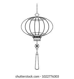 chinese lamp hanging icon