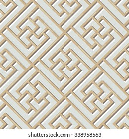 Chinese Lattice Pattern, Seamless
