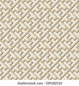 Chinese Lattice Pattern, Seamless