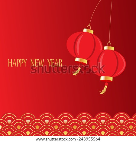 chinese new year background traditional style can be use for backdrop background