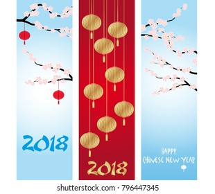 Chinese New Year banners collections