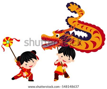 chinese new year festivaldragon dance
