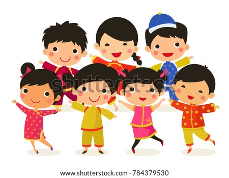chinese new year greetings children