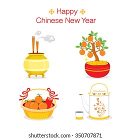 Chinese New Year Objects, Gifts, Traditional Celebration, China