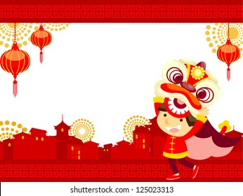 Chinese new year/Lion Dance