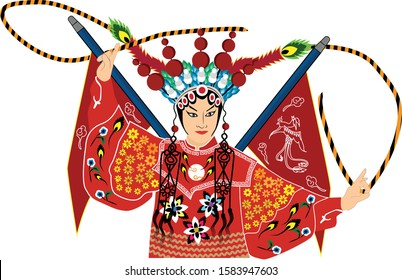 Chinese Opera is  a form of musical theatre in China with roots going back to the early periods in China.That incorporated various art forms, such as music, song and dance, costume and make up art.