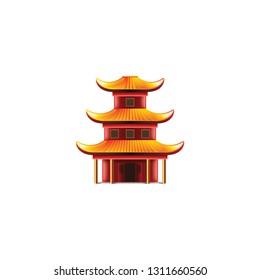 五重塔のイラスト素材画像ベクター画像 Shutterstock
