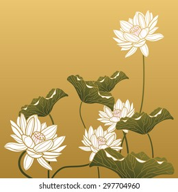 Chinese painting - Lotus flower