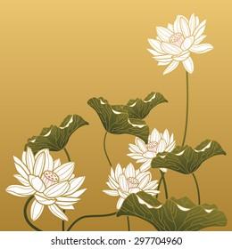 Chinese painting - Lotus flower