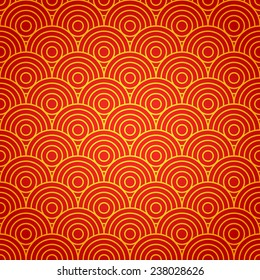 Chinese seamless pattern. Chinese new year 2015. Bright Beautiful  vector illustration. Background.