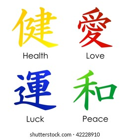 Chinese signs VECTOR