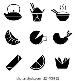 Chinese Take-out Icons