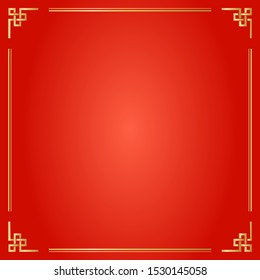 Chinese Traditional Background, The Fretwork Frame