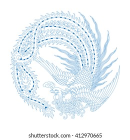 Chinese Traditional Pattern(Phoenix)