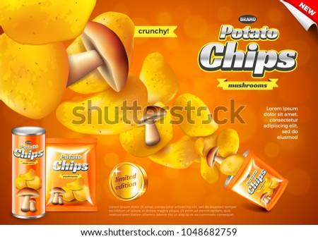 advertisement on chips