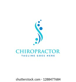 Chiropractic logo design collection