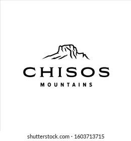 Chisos mountains at big bend national park