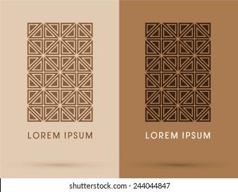 Chocolate, abstract, logo, symbol, icon, graphic, vector.