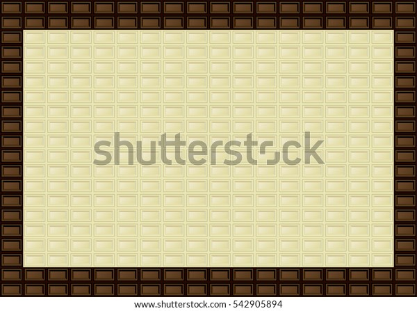 Chocolate bar frame