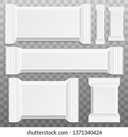 Chocolate bar mockup vector design illustration isolated on background