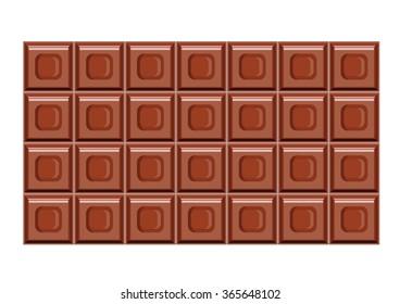 chocolate bar seamless pattern