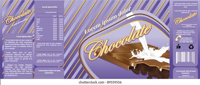 chocolate milk packaging