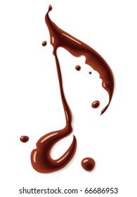 Chocolate note symbol