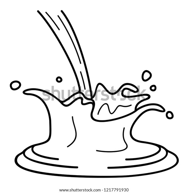 chocolate splash vector flat outline icon stock vector royalty free 1217791930 https www shutterstock com image vector chocolate splash vector flat outline icon 1217791930