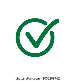 Choice button icon. Checklist, Checkpoint symbol. Checkmark symbol. Correct,agree,Check list icon vector illustration for web and mobil apps
